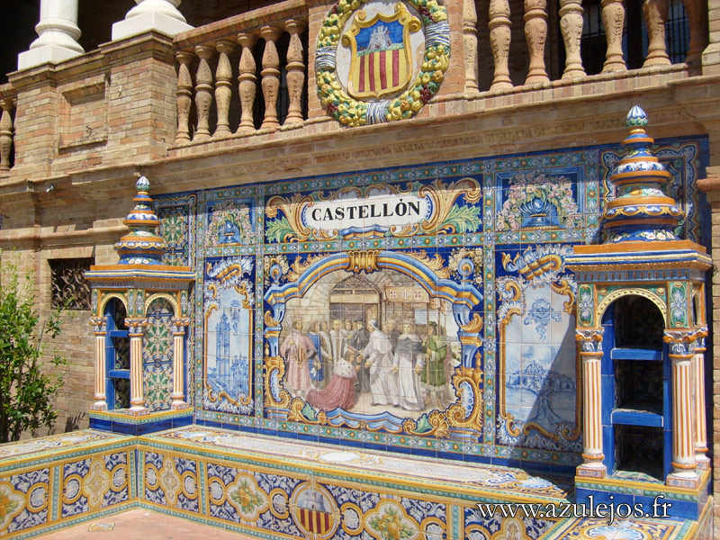 azulejos gallery and history of handmade portuguese and On azulejos spain